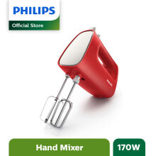 PHILIPS Mixer Hand New HR1552/10 - Red