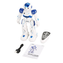 [kingstore] JJR/C R2 RC Robot Toy Dancing Singing Walking Gesture Control USB Charging Blue