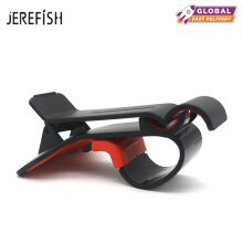 JEREFISH Universal Simulation HUD Design Car Phone Holder Adjustable for iPhone X 8 7 6 Plus GPS Stand Dashboard Phone Mount Black