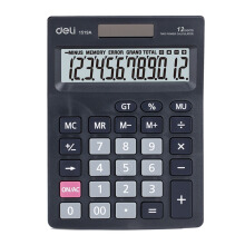 DELI Calculator E1519A