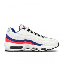 NIKE Air Max 95 Essential - White/Black-Solar Red-Ultramarine