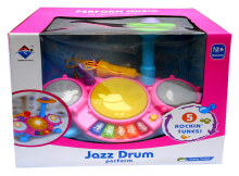 JAZZ DRUM MUSIC PERFORM - KADO MAINAN ANAK BAYI MUSIK DRUM