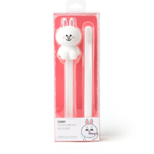 LINE FRIENDS Cony Silicon Toothbrush Holder And Toothbrush