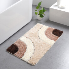 OAC Microfiber European tufted carpet home bathroom absorbent mat home door mat