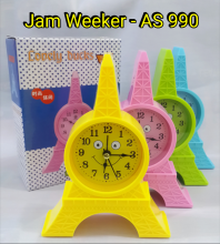 Jam Weeker / Tidur Paris AS 990