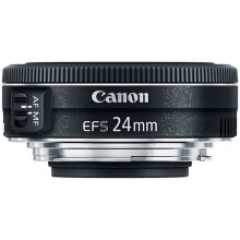 CANON EF-S 24MM F2.8 STM Black