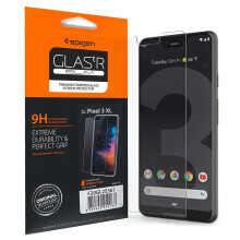 Google Pixel 3 XL Tempered Glass Spigen Glas tR Slim Screen Protector