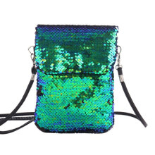 [LESHP]BZ902 Fashionable Sequin Ladies Handbag Female Totes Messenger Bag Women Purse Others