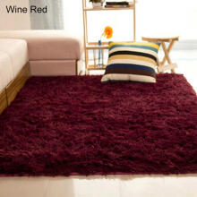 Farfi Home Living Room Bedroom Floor Carpet Mat Anti-Skid Rectangle Area Rug