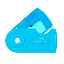 FABER-CASTELL 182702 Sleeve Sharpener (Random Color)