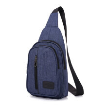 [COZIME] Multifunctional Casual Chest Bag Fashion Travel Chest Bag Crossbody Bag Black1