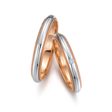 Tiaria Love Miller Pair Ring