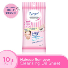 BIORE Make Up Remover Cleansing Oil Sheet 10's