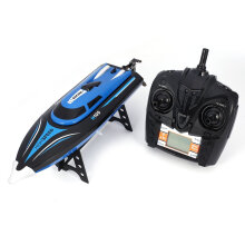 COZIME TKKJ H100 RC Boat High Speed Racing 180° Flip Electric Toy RTR Blue