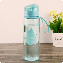 Jantens 500ml New Plastic Convenience Sports Water Bottles Lovers  Automatic Buckle Water Bottle
