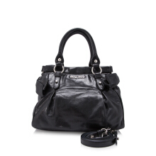 Pre-Owned Vitello Lux Satchel