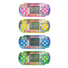 OKdeal Mini Tetris Game Console LCD Handheld Game Players Children Educational Toy (color and style random delivery) Random