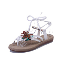 Jantens Summer Woman Gladiator Sandals Women 2017 New Fashion Floral Roman Strappy Platform Sandals Flip Flops Bohemia Shoes