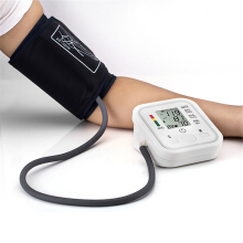 Digital LCD Wrist Blood Pressure Monitor Heart Meter Measure Health Care Tool White