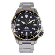 Orient Triton Divers Mechanical Sports RA-EL0003B Men Black Dial Stainless Steel [RA-EL0003B]
