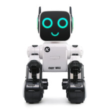 JJRC RC Robot Intelligent Program Xmas Gift Toys Interactive Sound Control Voice Record Alert Item Transfer Coin Bank Dance