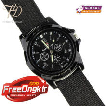 PEKY MW108 luxury brand military watch men quartz analog clock leather canvas strap clock men sports watch
