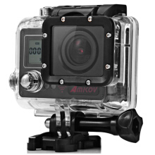 AMK7000S 4K Ultra HD 2 inches TFT WiFi Action Camera DV Black