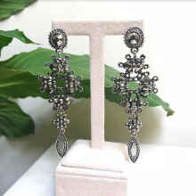 VASELLA OFFICIAL Earrings My Queen - Silver