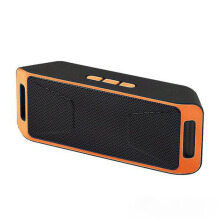 Vinmori SC-308 Mini Bluetooth Speaker Portable Wireless Speaker Sound 3D Stereo Music Surround Support Bluetooth TF AUX USB