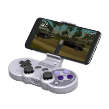 [OUTAD] For 8Bitdo Bracket Adjustable Mobile Phone Holder Clamp NES30PRO FC30PR Grey