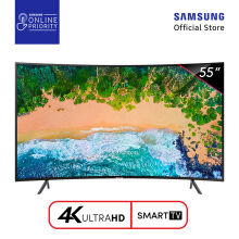 SAMSUNG UHD 4K Curved Smart LED TV 55 Inch - UA55NU7300 [SAMSUNG ONLINE PRIORITY]