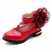 SiYing Korean version of princess shoes children's shoes soft sole shoes