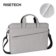 RISETECH Women Men Laptop Bag Laptop Handbag 15.6 inch for MacBook/Notebook