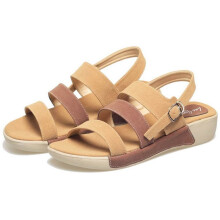 SANDAL HIGH HEELS / WEDGES KASUAL WANITA - BYI 957
