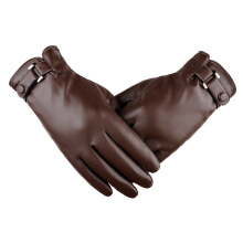 SiYing Men's Fashion Business Leather Imported Gloves