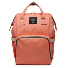 DMALL STORE-Tas Popok Large Capacity Diaper Bag P56 Orange