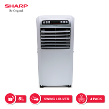 SHARP Air Cooler PJ-A55TY-W - Putih