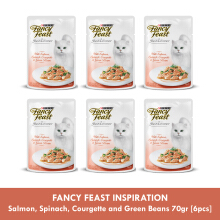 FANCY FEAST INSPIRATION Salmon, Spinach, Courgette and Green Beans 70gr [6pcs]