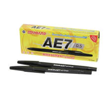STANDARD Pen AE7 Black (1 Pack = 12 Pcs)