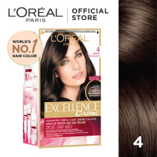 L'OREAL Excellence Creme #4 - Cat Rambut - Natural Brown 259gr