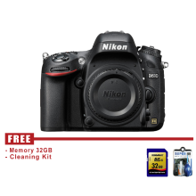 Nikon D610 Body Only Hitam - Free Accessories