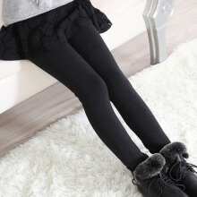 Anamode Children Winter Underpants Girl Leggings Warm Bottoming Tights Pants With Fleece -