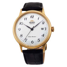 Orient Automatic RA-AC0002S Men White Dial Black Leather Strap [RA-AC0002S]