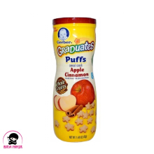 GERBER Graduates Puffs Apple Cinnamon Crackers 42 g