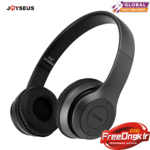 JOYSEUS P47 Headphone Wireless Headset Hands Free Earphone With MF/TF Card bass Earpod Black