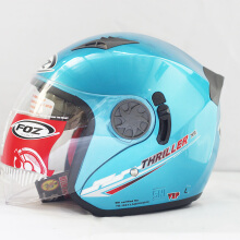 Helm foz thriler solid ice blue