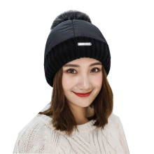 SiYing fashion cute student hat winter plus velvet thick women's down hat