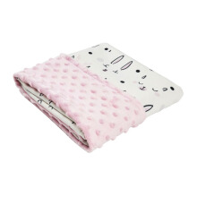 COTTONSEEDS Baby Blanket Happy Kitty