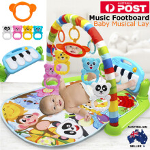 3 in 1 Educational Toys Baby Play Mat Kids Rug Educational Puzzle Carpet With Piano Keyboard And Cute Animal Playmat Baby Gym  Other