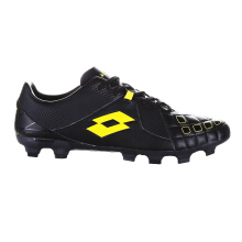 LOTTO SQUADRA FG - BLACK/JET BLACK/SUNSHINE